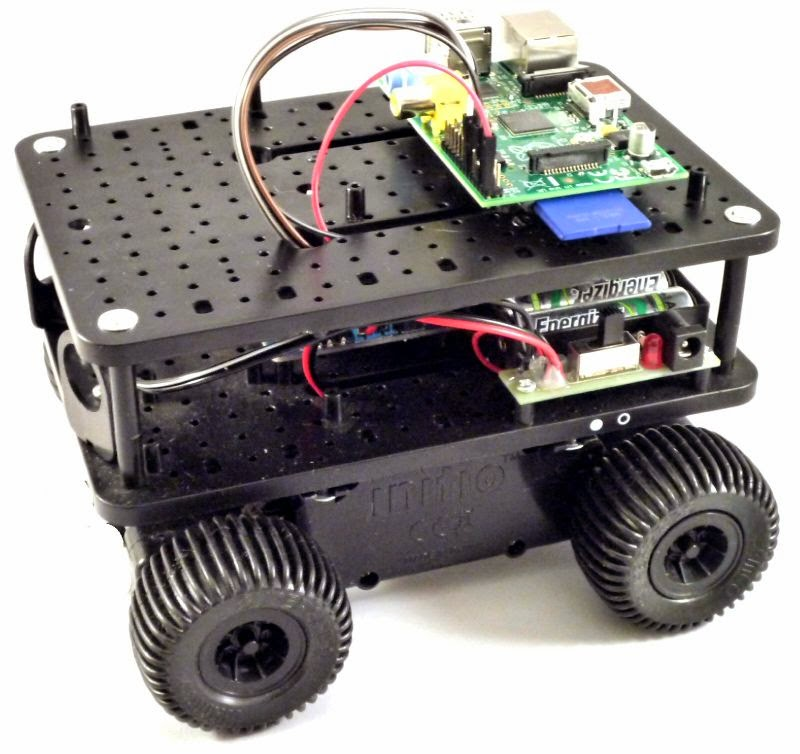 Raspberry pi initio robot python motor control for Raspberry pi motor speed control