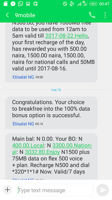 9mobile 100% Double Data Offer