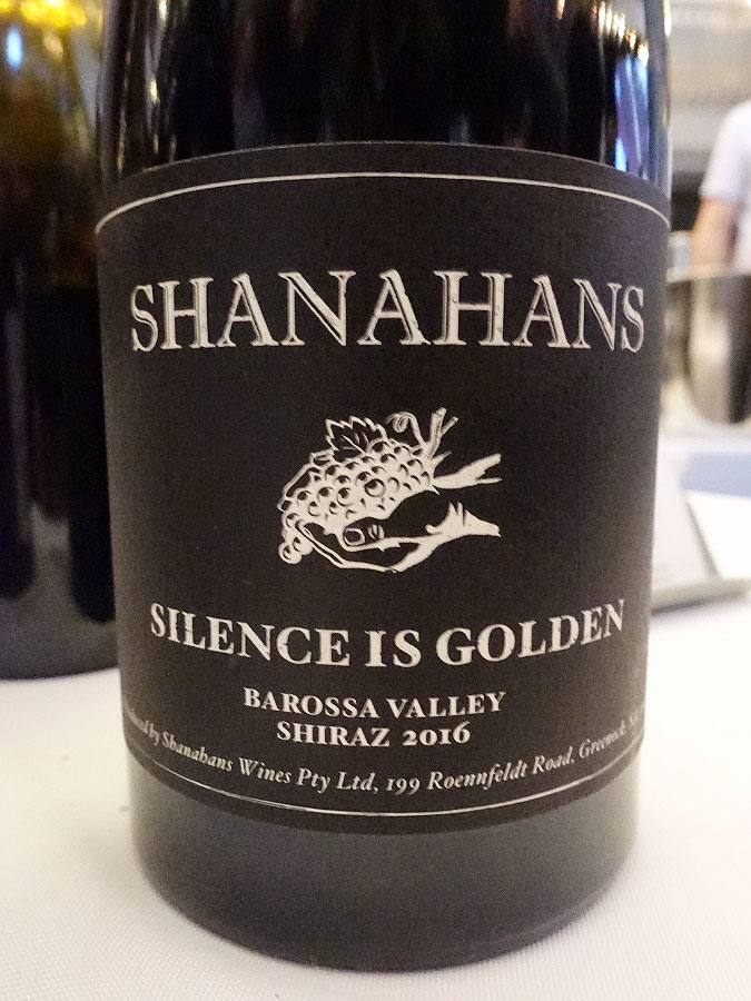 Shanahans Silence Is Golden Shiraz 2016 (89 pts)