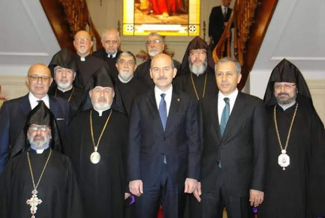 Erdogan se reúne con patriarcales armenios de Estambul