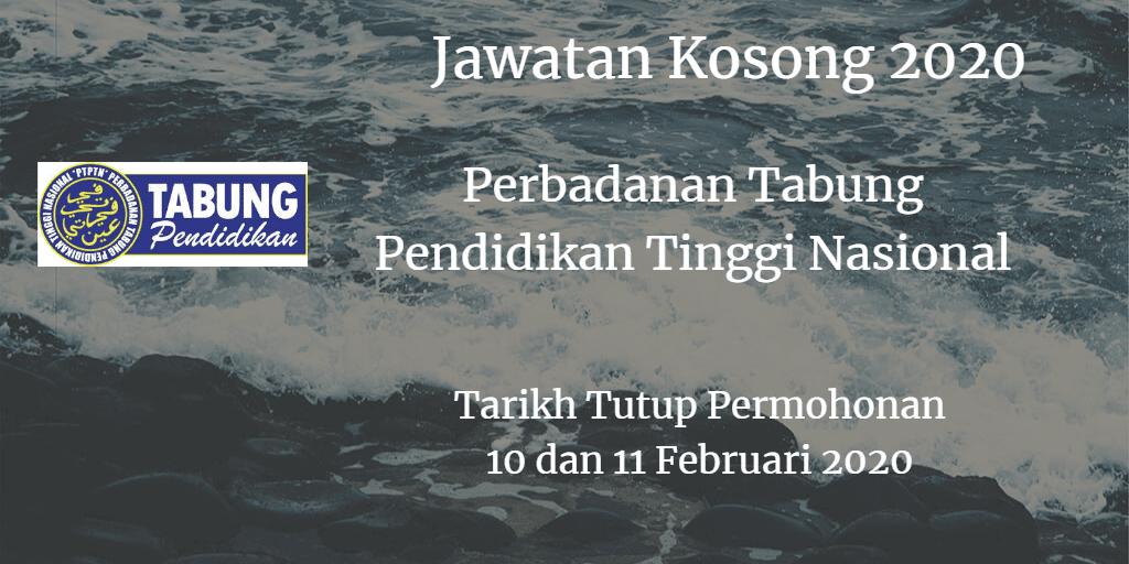 Jawatan Kosong PTPTN 10 dan 11 Februari  2020