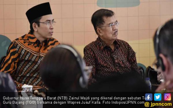 Cawapres Jokowi: JK Pertama, TGB Kedua