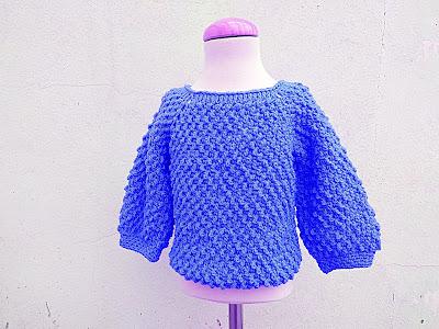7 - Crochet Imagen Jarsey de nina a crochet muy rapido y sencillo por Majovel Crochet