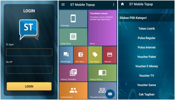 st mobile net top up pulsaku - aplikasi android isi pulsa, jualan pulsa dan untuk bisnis, software aplikasi android gratis untuk bisnis pulsa, aplikasi pulsa all operator