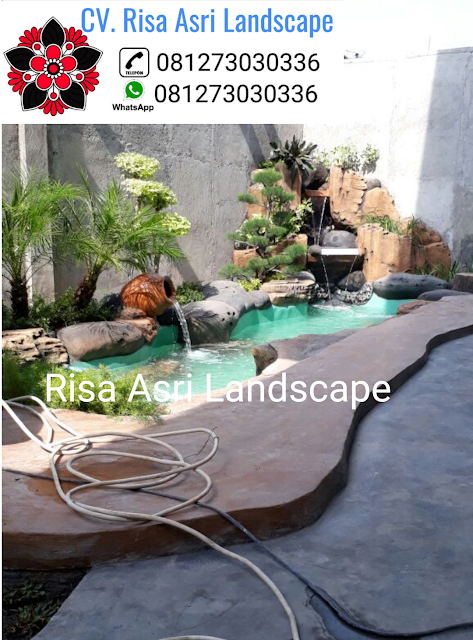 jasa tukang dekorasi kolam tebing air terjun, ornamen relif 3d TUKANG TAMAN JAKARTA, JAKARTA SELATAN BARAT TIMUR UTARA PUSAT - JASA PEMBUATAN PERTAMANAN LANDSCAPE