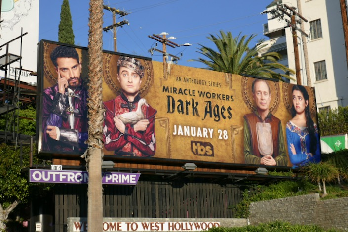 Miracle Workers Dark Ages billboard