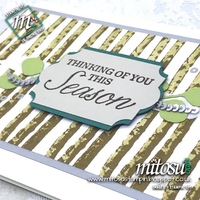 Stampin' Up! Winter Woods Bundle Card Idea. Order from Mitosu Crafts UK Online Shop