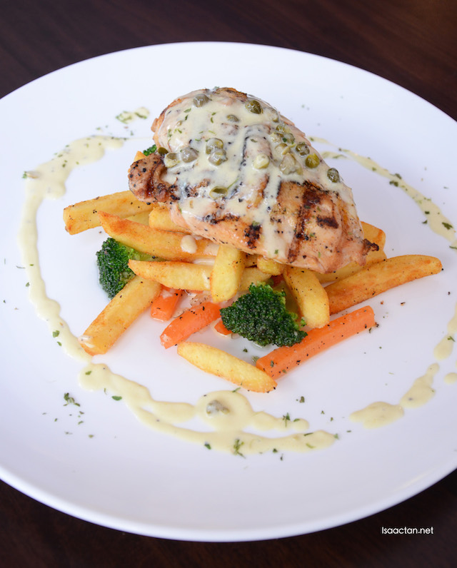 Grilled Chicken & Capers - RM28