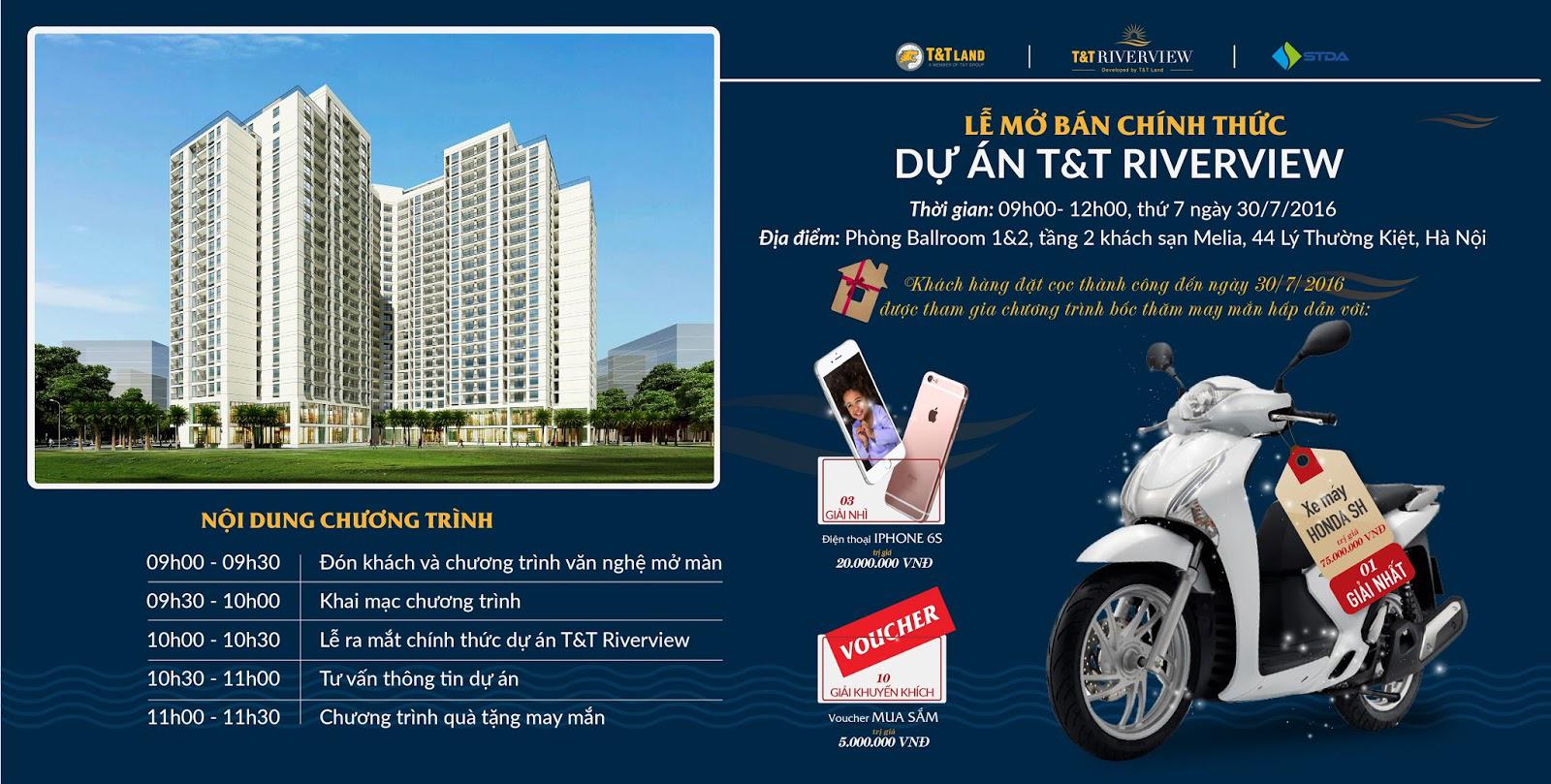 Chương trình mở bán dự án chung cư 440 Vĩnh Hưng