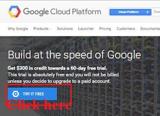 Google Cloud Platform Creat Account And Get $300