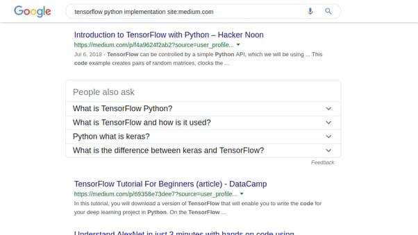tips dan trik google search