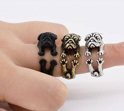 Pug Adjustable Wrap Ring