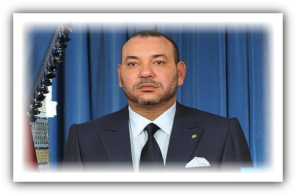 برقية تعزية ومواساة من جلالة الملك إلى أفراد أسرة المرحوم الطفل عدنان بوشوف