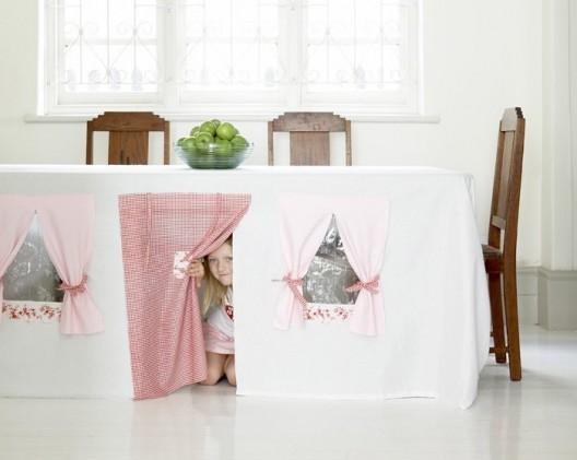 les chics filles cabane d 39 int rieur pour vos enfants. Black Bedroom Furniture Sets. Home Design Ideas