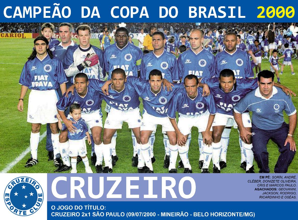 Edição dos Campeões: Cruzeiro Campeão da Copa do Brasil 2000
