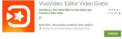Aplikasi edit video hp android terbaik -viva video