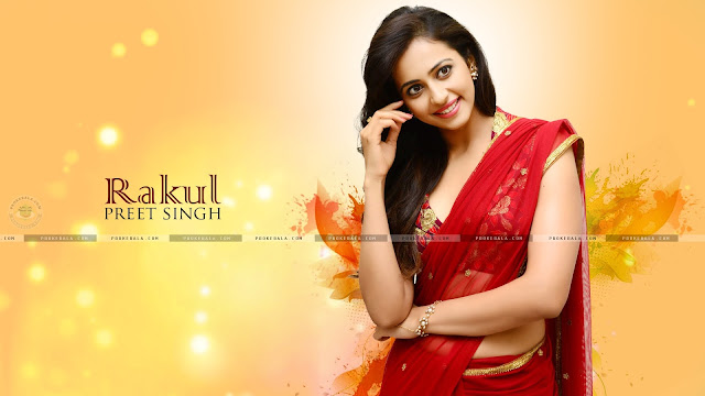 rakul preet singh saree photos