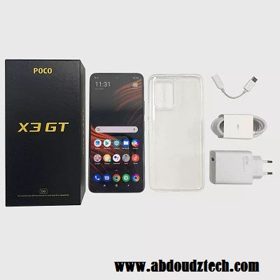 مواصفات وسعر هاتف Poco X3 GT الجديد