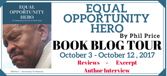 Equal Opportunity Hero Book Blog Tour #LoneStarLit
