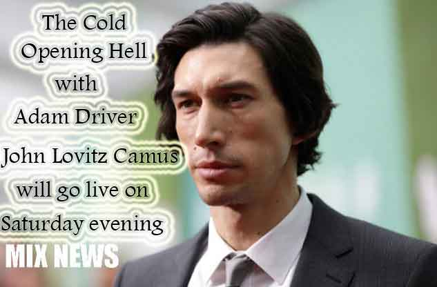 Adam Driver,John Lovitz,Saturday,Cold Opening