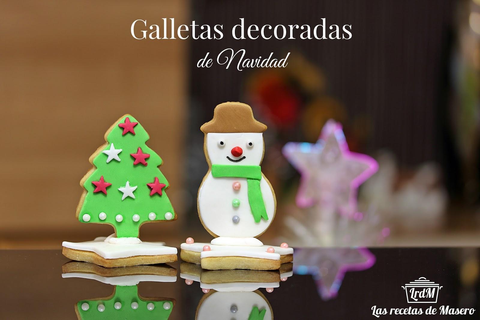 Las Recetas De Masero Galletas Decoradas De Navidad