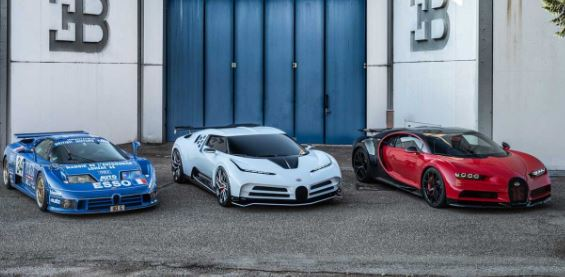 Bugatti Centodieci 9 Million Dollar Hyper Car tribut to Iconic EB110