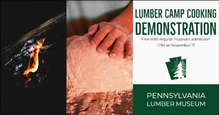11-17 Lumber Camp Cooking Demo