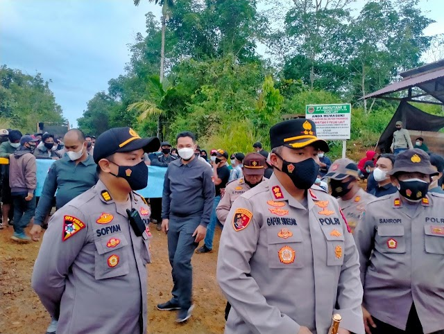Dugaan Pelanggaran oleh PT BSS Ditangani Polda Kalsel, Penutupan Jalan kembali Dibuka Masyarakat