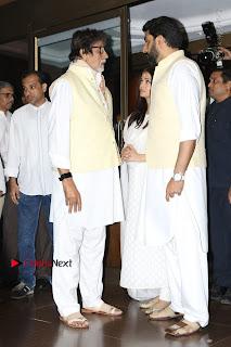 Actress Aishwarya Rai Father Prayer Meet Set 1  0011.JPG