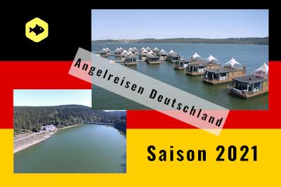 Ferienhaus für Angler Deutschland