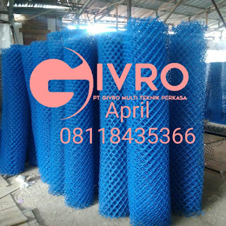 Kami Produksi, Jual Kawat Harmonika PVC & Galvanis Murah Harga Pabrik