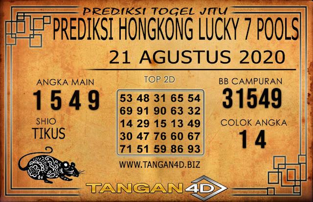 PREDIKSI TOGEL HONGKONG LUCKY 7 TANGAN4D 21 AGUSTUS 2020