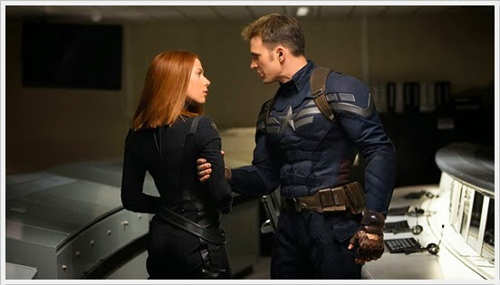 Captain America & Black Widow