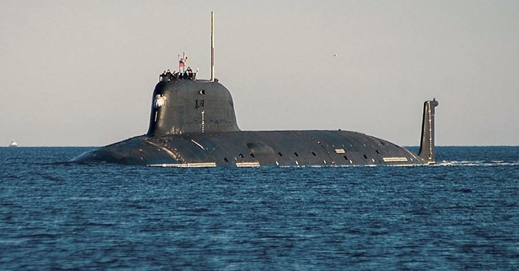Russian Yasen-M class nuclear submarine
