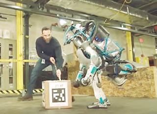 Robot buatan Google yang tahan pukul tahan banting