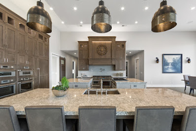 Kitchen of House #27: The Resolute at the 2021 Parade of Homes