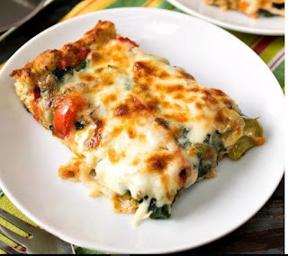 best Keto Sheet Pan Pizza - A Family Feast