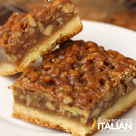 Best Ever Pecan Pie Bars Video