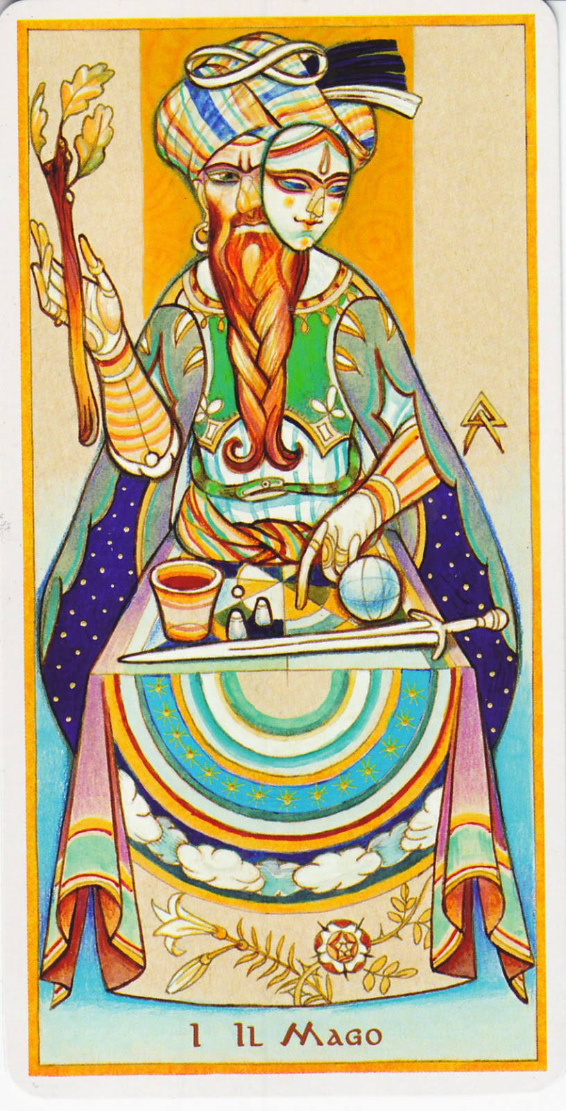 Rowan Tarot December 2012: Rowan Tarot: Tarot And The 12 Steps: 1-3