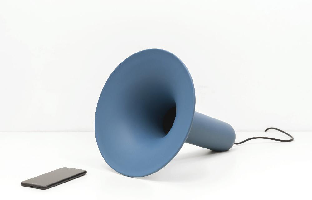 speaker bluetooth realizzato in ceramica e dal design unico