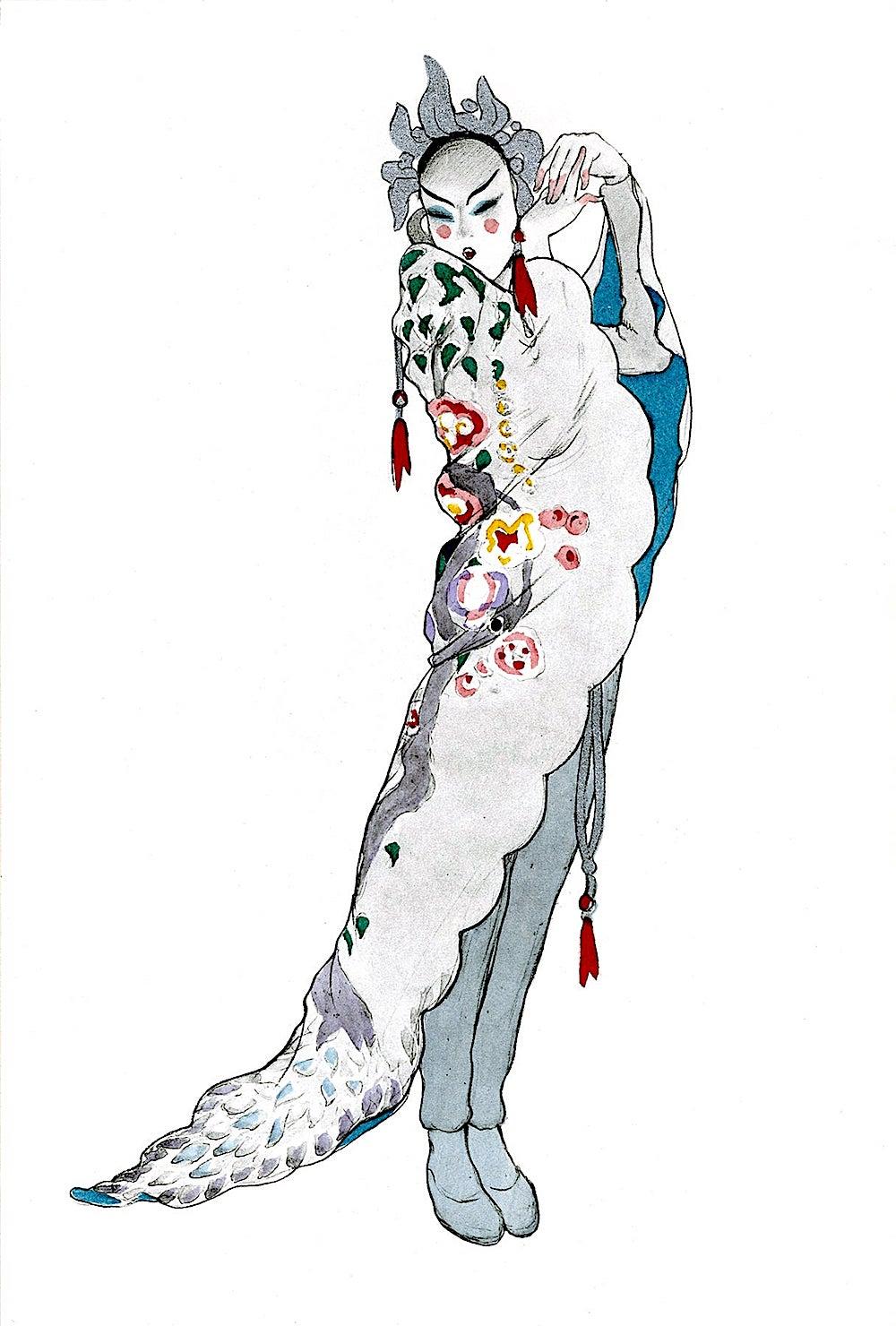 Walter Schnackenberg, an East Asian woman dancer