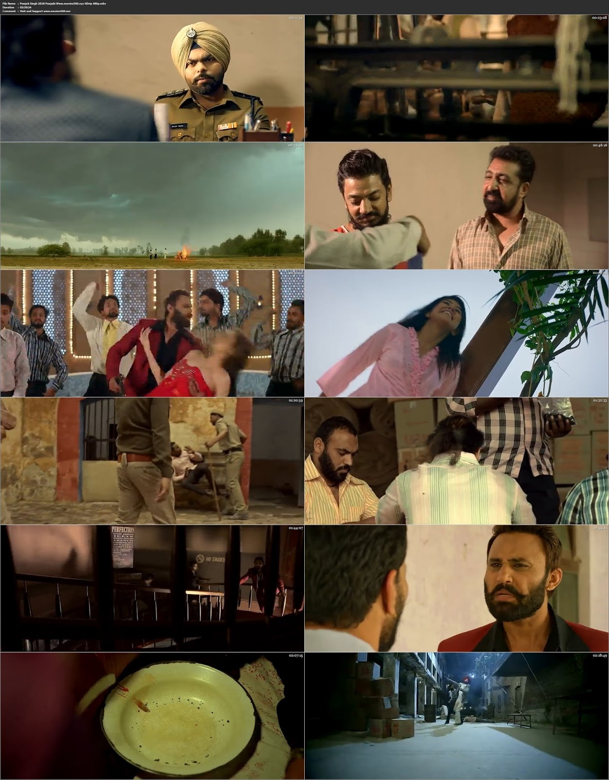 Punjab Singh 2018 Full in 300MB Punjabi Movie HDrip 480p at movies500.info