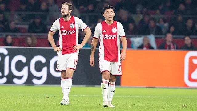 Ajax bất ngờ thất bại trước đội bóng cũ của Virgil van Dijk.