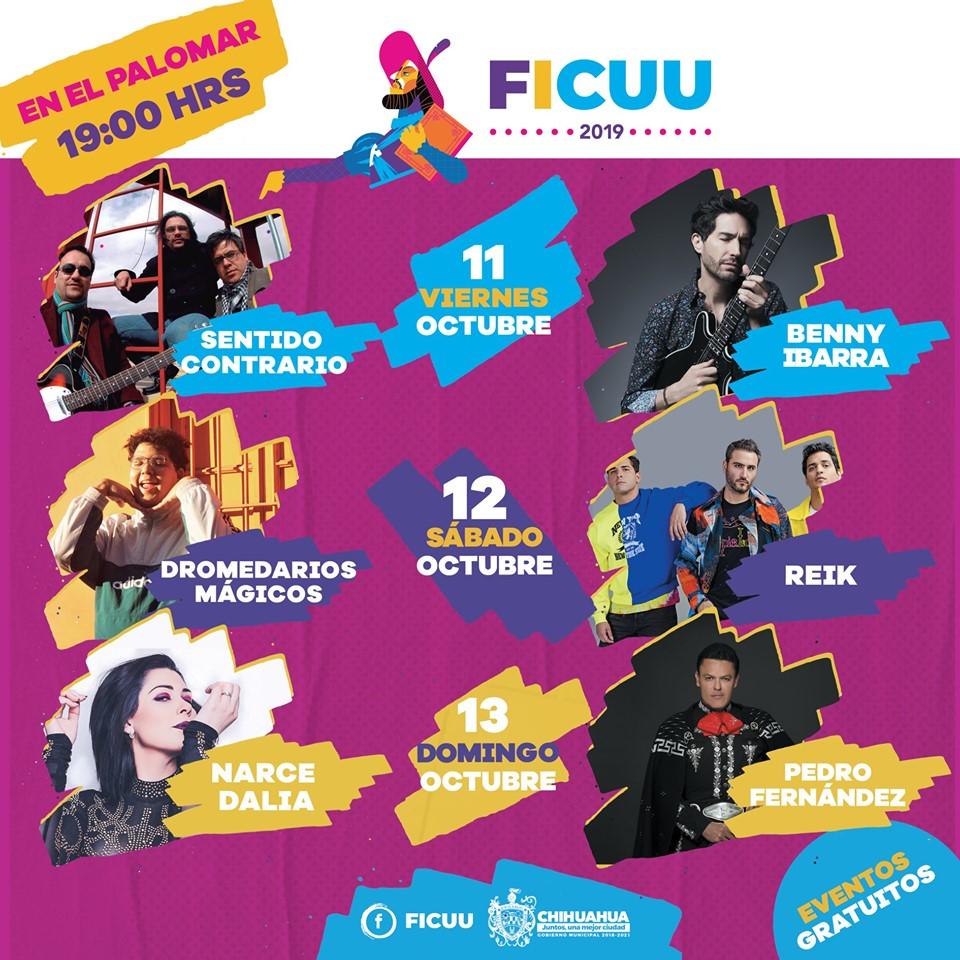 Conciertos en el FICUU 2019