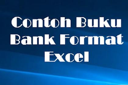 Contoh Buku Bank Format Excel