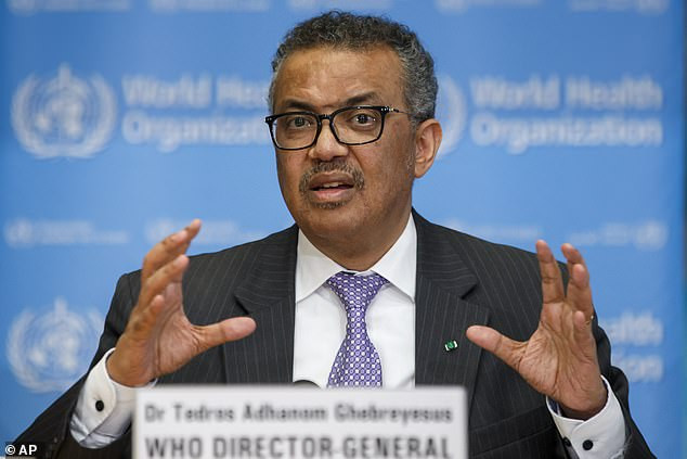 Calls grow for WHO director Dr. Tedros to resign for 'letting China deceive the world by covering up true impact of coronavirus'