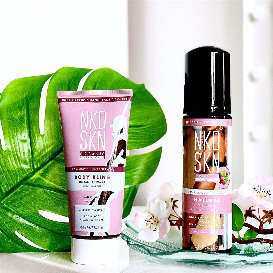 NKD SKN kosmetyki samoopalające blog