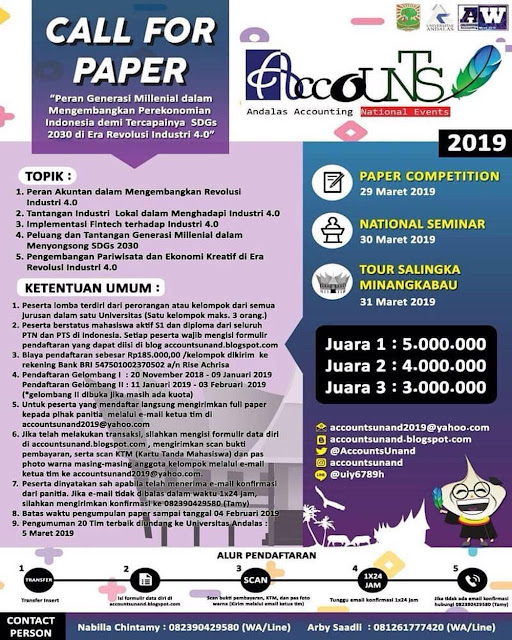 Lomba Paper Andalas Accounting National Events 2019