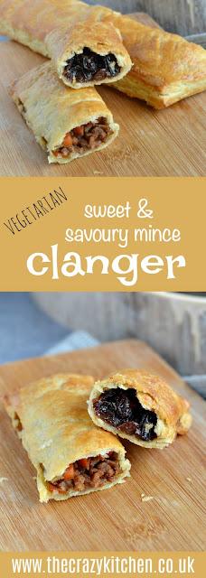 Vegetarian Sweet & Savoury Mince Clanger
