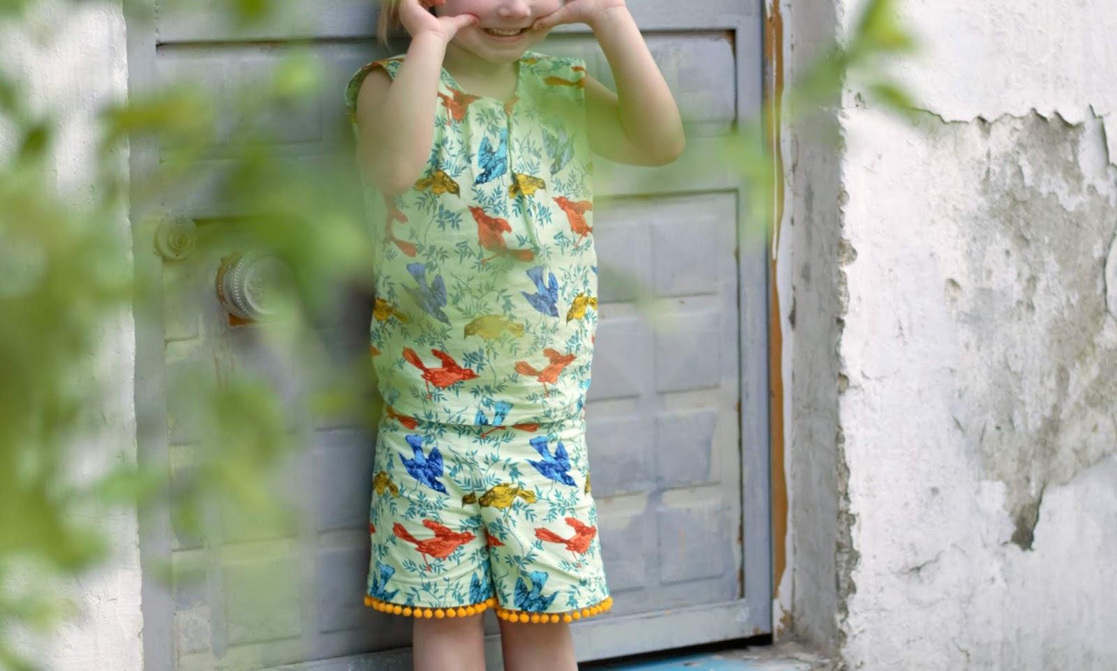 shortsipuku tytölle